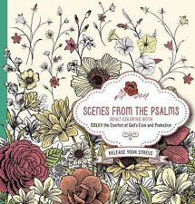 SCENES FROM THE PSALMS ADULT COLORING BOOK - PASSIO (COR) - NEW PAPERBACK BOOK