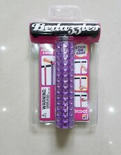 Stunning Purple Scoot Bedazzles Stick On Gems To Bling Up Scooter Or Bike BNIP