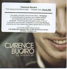 (AF670) Clarence Bucaro, 'Til Spring EP - DJ CD