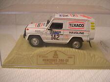 Norev Mercedes Benz G. Wagen Dakar 1983 Jacky ICKX C.Brasseur