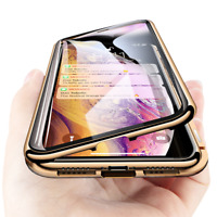 360 Magnetic Adsorption Phone Case For iPhone 11 Pro Max XS MAX X XR 8 7 6s Plus