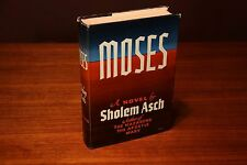 Signed First Edition Moses Sholem Asch 1951 Putnam 1st/1st Christian Literature