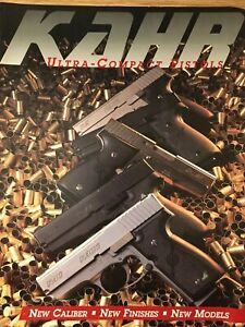 1997 KAHR  Ultra Compact Pistols Catalog, New K40 Stainless