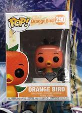 Funko Pop Orange Bird Disney Exclusive Diamond Collection Vinyl Figure New