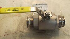 "Franklin Fueling 1000 WOG 2"" EZ Fit × 2"" EZ Fit ball valve, stainless steel (C3"