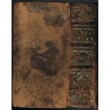Johann Friedrich GRONOVII ad L & M ANNÆOS SENECAS Notæ LVGD BATAV 1649 Ex-Libris