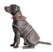 Ancol Stormguard Fleece Lined Dog Coat & Chest Protector   Dogs