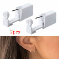 2X Disposable Safe Sterile Piercing Unit Nose Studs Piercing Tool Kit w/Stud Hot