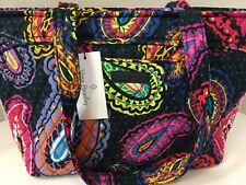 Vera Bradley MANDY hand shoulder bag TWILIGHT PAISLEY carryall purse NWT