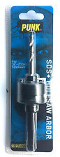 SDS+ HOLESAW ARBOR For 32 -210mm PUNK BRAND QUALITY PRODUCT FREE POSTAGE