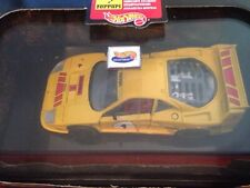 Hot Wheels 1/43 Scale Model Car 25710 - Ferrari F40 Racing - Yellow