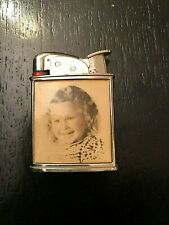 VINTAGE  AMERICAN  EVANS POCKET CIGARETTE LIGHTER ,C.1950