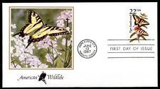 Schmetterlinge. Schwalbenschwanz. FDC. USA 1987