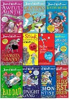 David Walliams Collection 11 Books Set (Awful Auntie, Demon Dentist ,Bad Dad)