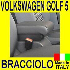 BRACCIOLO per VW GOLF V - 5 - Volkswagen - mittelarmlehne - vedi ns. tappetini