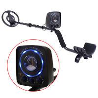 Waterproof LED Metal Detector Sensitive Search Gold Digger Hunter All Metal Disc