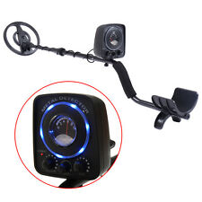Waterproof LED Metal Detector Sensitive Search Gold Digger Hunter All Metal Disc