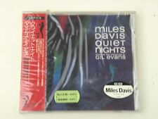 MILES DAVIS - QUIET NIGHTS - CD JAPAN 1986 CBS/SONY RECORDS  W/OBI NEW! NUOVO!