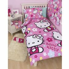 Hello Kitty Set Copripiumino Singolo Design Reversibile