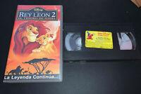 El Rey León 2 Walt Disney VHS