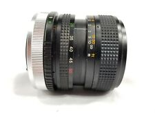 Cimko 28-50mm f/1:3.5-4.5 Manual Focus lens for Canon FD mount
