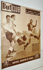 BUT ET CLUB N°180 1949 RUGBY CASTRES CHAMPION FOOTBALL FRANCE-ENGLAND CYCLISME