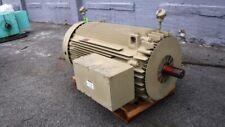 300 HP General Electric AC Electric Motor 1200 RPM Fr 5011LL TEFCBB 4160 V New