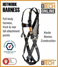 Safety Harness Hotwork Nomex/Kevlar Australian Compliance AS/NZS1891.1-2007