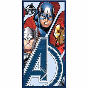 Marvel Avengers Assemble Super Hero Children Kids Swim Beach Towel 100% Cotton