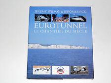 EUROTUNNEL Tunnel sous la Manche Le chantier Trains Locomotives des navettes