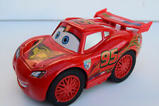 LARGE CHUCKY LIGHTNING MCQUEEN CARS 3 DIECAST CAR RACING ROARING SOUND + DRIVES