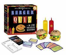 Jeux de Société Burger Quiz Dujardin Famille Amis Voyage Vacances Jouet Tout Age