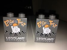 LEGOLAND EXCLUSIVE BRICK OR TREAT TRAIL HALLOWEEN LEGO DUPLO BRICKS LOT OF 2