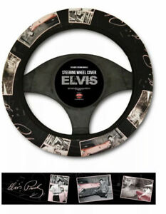 Elvis Pink Cadillac Steering Wheel Cover / Direct From Memphis / Graceland
