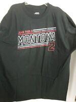 Team Penske Jaun Pablo Montoya 2 Black T Shirt