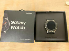 Samsung Galaxy Watch SM-R800 46mm Silver Case Classic Buckle Onyx Black -...