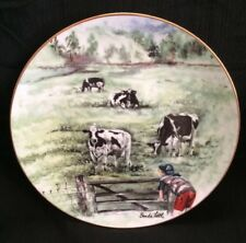Alfa Laval Agri Limited Edition Collectors Plate By Brenda Little