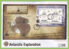 British Antarctic Terr. 2008 Exploration miniature sheet on First Day Cover