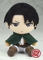 Attack on Titan Plush Stuffed toy Doll Series Levi 20cm Gift from JAPAN