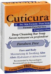 Cuticura Dry Skin Formula Fragrance Free - 3 Oz (85g)