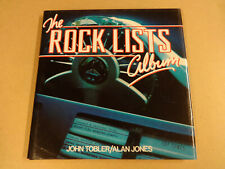 BOOK / THE ROCK LISTS ALBUM (JOHN TOBLER & ALAN JONES)