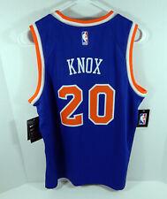 Juventud Nueva York Knicks Kevin Knox #20 Azul Icono Jersey Nike Swingman M nuevo con etiquetas Ss L