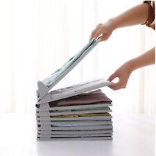 Clothes Organizer Clothes Folder File T-shirts Storage Shelves Rack Cabinet
