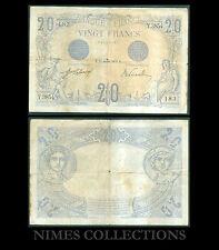 BILLET DE20 FRANCS  BLEU  DATE 15-JANVIER-1913 ETAT: TB + N° Y.3854