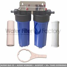 Caravan Water Filter Camp Outdoor Boat | 5uM Spun + 5uM Carbon Filters CVL-S5C5