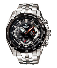 Casio Edifice EF-550D-1A Men's Chronograph Stainless Steel Band Analog Watch