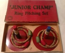 Vintage Brodhaven Junior Champ Ring Pitching Toss Set Game