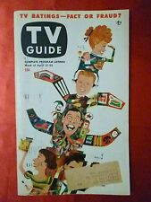 Rare LUCY BALL Berle Godfrey Caesar Vol. 1 #3 TV GUIDE April 17 1953 Chicago