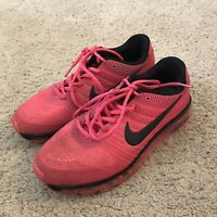 Nike Air Max 2017 Womens Hot Pink Running Shoes Size 8 Good Condition