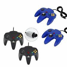 Game Controller Joystick Für Nintendo 64 N64 N-64 GamePad Schwarz Blau Apr